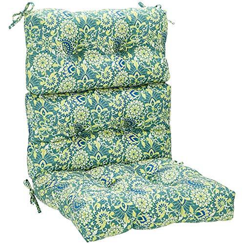 ck Chair Patio Cushion- Blue Floral ()