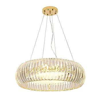 Post Modernen Luxus Restaurant Kronleuchter Einfache Runde Kristall Lampe  Kreative Persönlichkeit Villa Wohnzimmer Schlafzimmer Modell