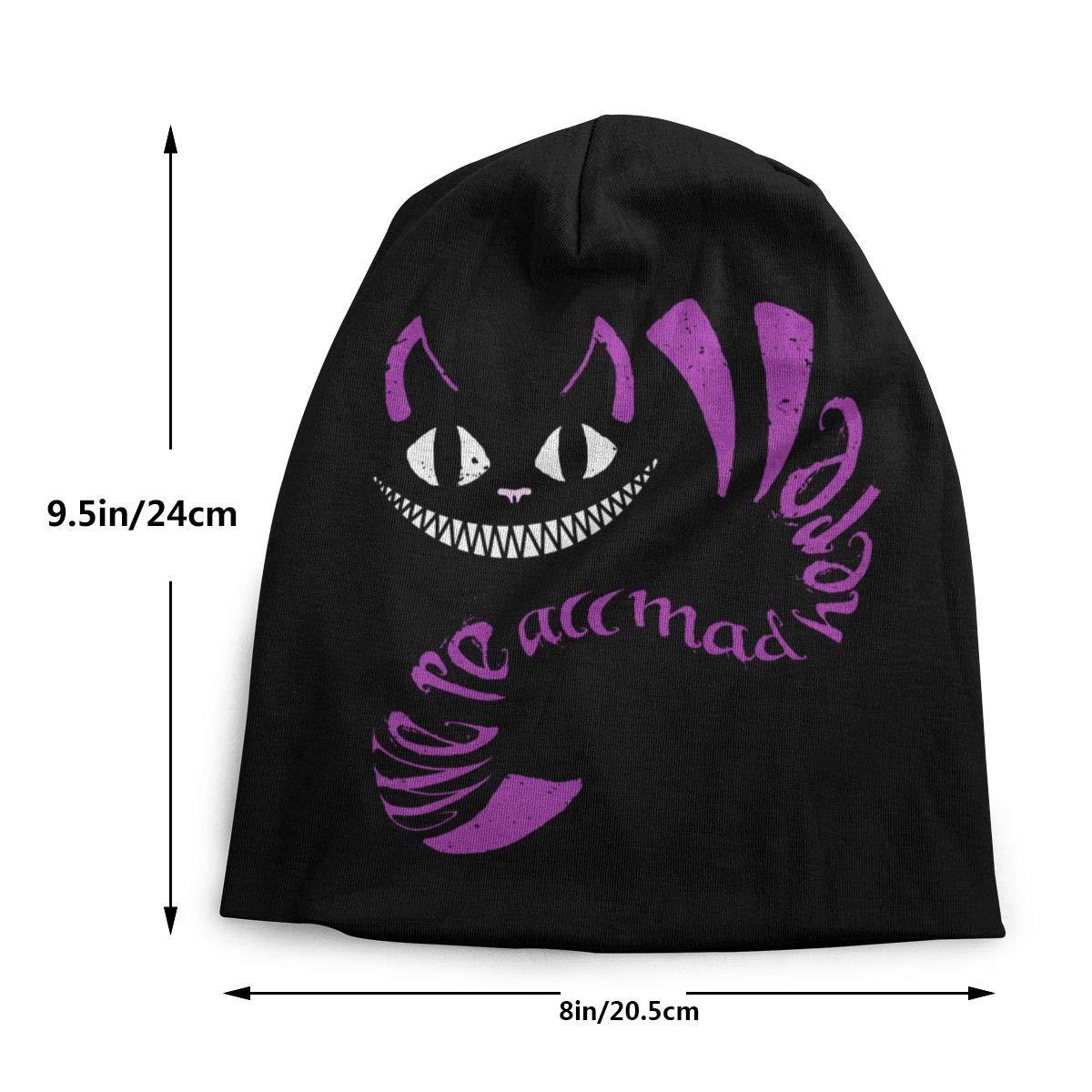 Alice in Wonderland Cheshire Cat Kids Cuff Fashion Hip Hop Cap Warm Children Beanie Boys Girls