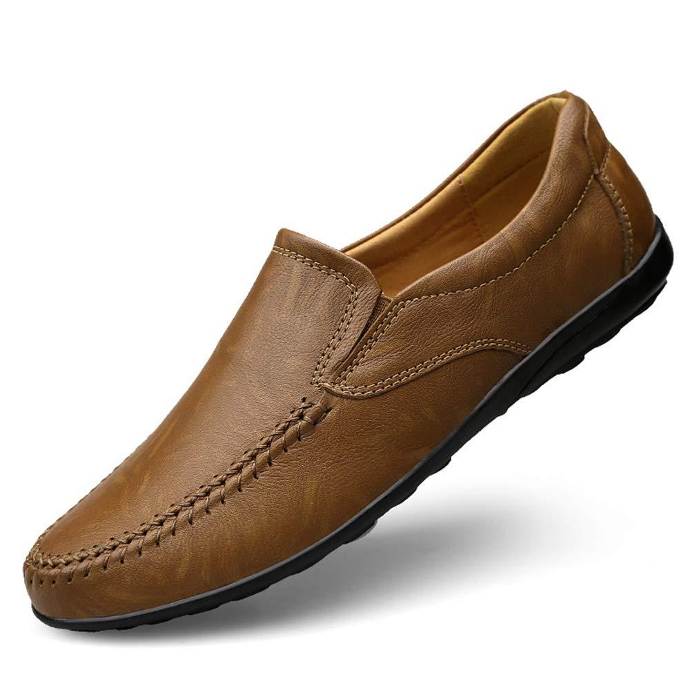 YAN Herrenschuhe 2018 Leder Feder/Falllicht Sohlen Loafers & Slip-Ons Comfort Loafers Fahr Schuhe, B,43