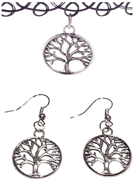 3b8aada2d0c17 Amazon.com: KozyChic Most Comfortable Tree of Life Choker Necklace ...