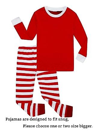 family feeling little girls boys matching christmas pajamas sets 100 cotton sleepwears toddler kids pjs