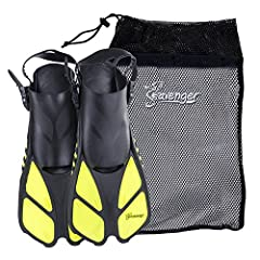 Easy-Kick Technology The Seavenger Torpedo fin makes it easy to change direction quickly and conserves energy as you propel forward. With durability that lasts and great flexibility, these fins are a great gift for beginners or a hardy go-to ...