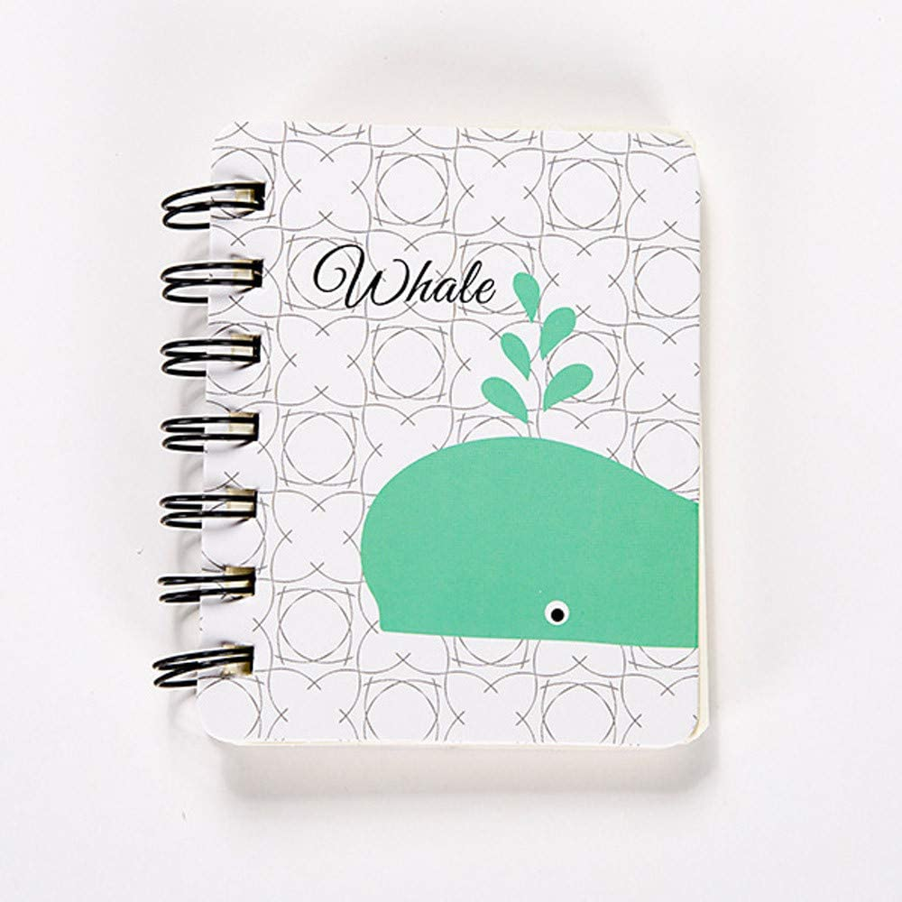 A5 Notebook Journal Diary Office Student Drawing Notepad Memo Exercise Portable
