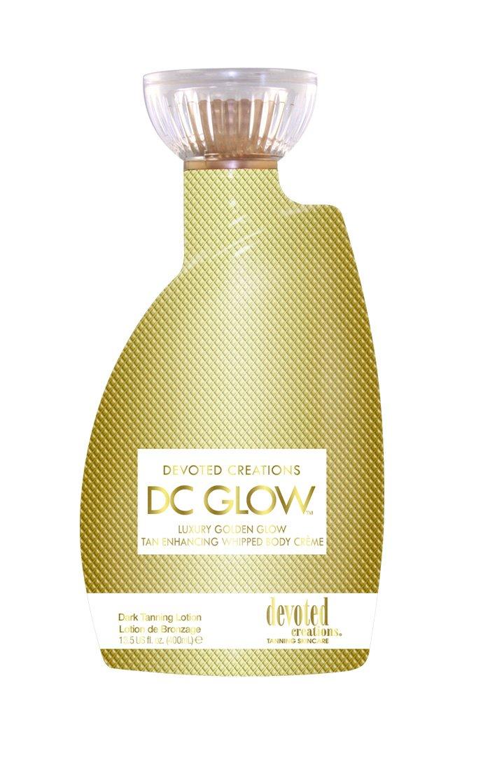DC Glow, Tan Enhancing, Whipped Body Creme Lotion 13.5 Ounce