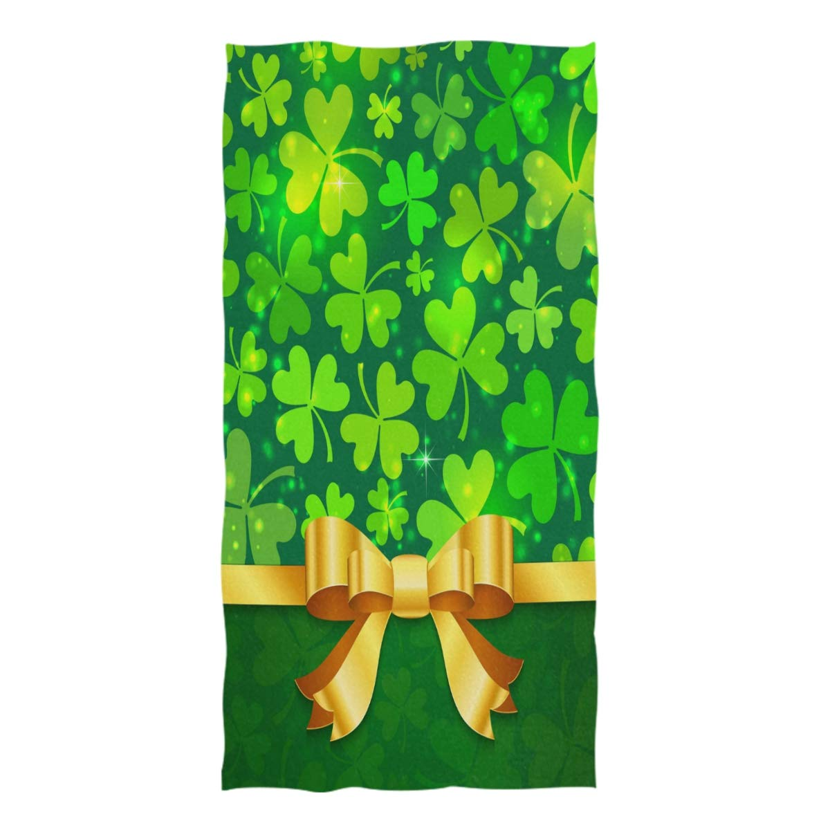 St Patricks Day Irish Green White Orange Lucky Clover Shamrock Bandana