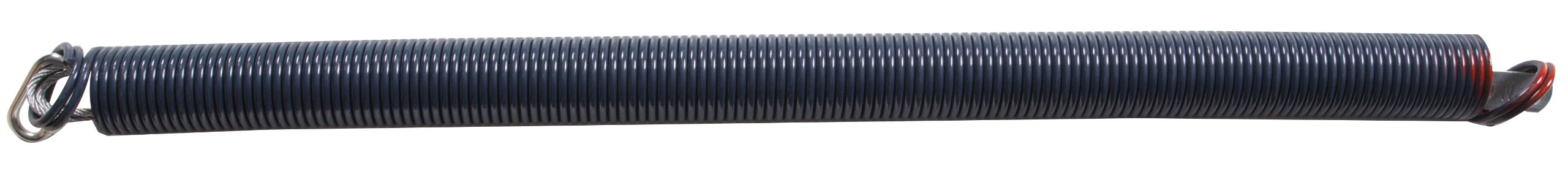 The Hillman Group The Hillman Group 25 in. x 130 lbs. Yellow Extension Spring with Safety Cables (1-Pack)