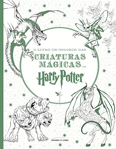 O Livro de Colorir das Criaturas Mágicas de Harry Potter - Volume 2