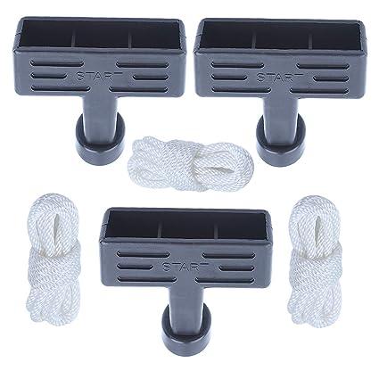 Amazon.com: Kit de empuñadura y cuerda de arranque para ...