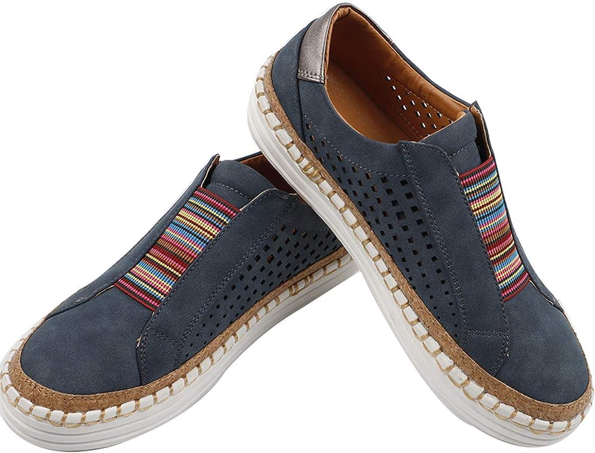 Gnpolo Slip On Sneakers for Women Slide
