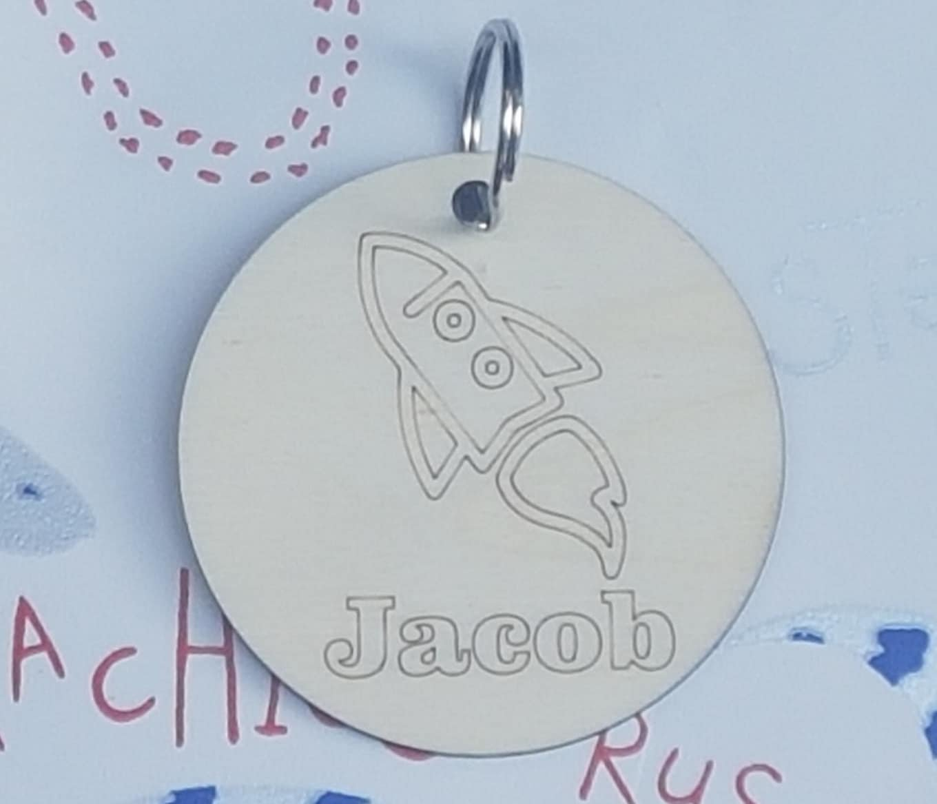 Children's Bacpack Name Tags