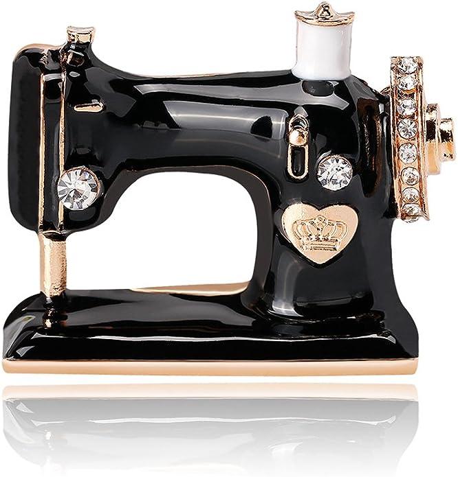 Broche para máquina de coser Xinmiltd para mujer, esmaltado ...