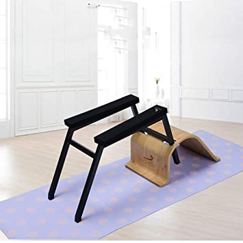 Amazon.com: Du hui Black Steel Bodylift Headstand Bench Yoga ...