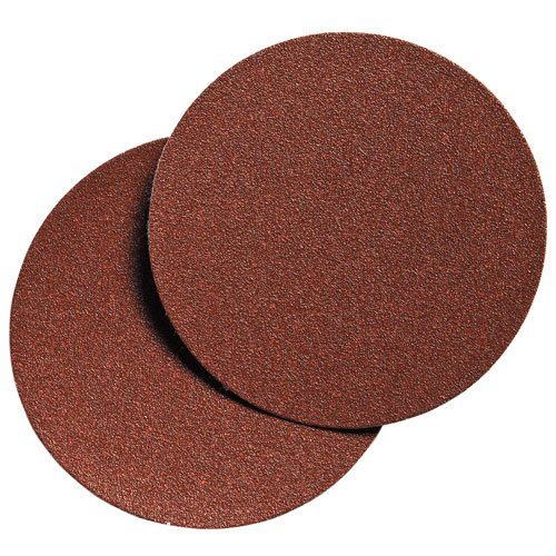 PORTER-CABLE 736000425 6-Inch Hook and Loop Aluminum Oxide No Hole 40G Disc (25-Pack)