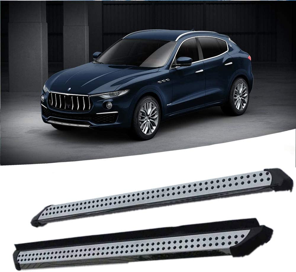 fits for Maserati levante 2016 2017 2018 2019 Running board nerf bar side step