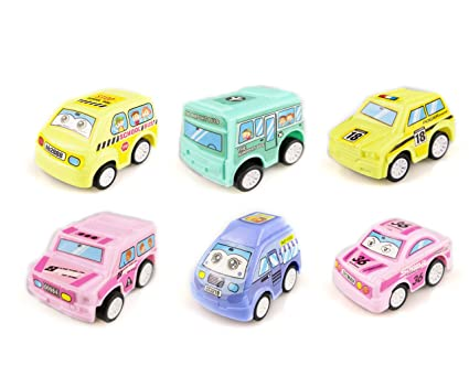 Amazon Com Sugoo Boy Toys Age 1 2 3 Pull Back Car Set Toy For 4 5