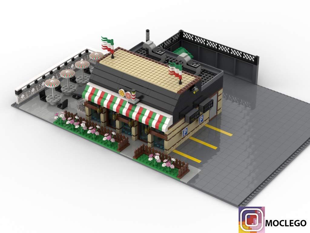 Italian Restaurant (Instruction Only): MOC LEGO