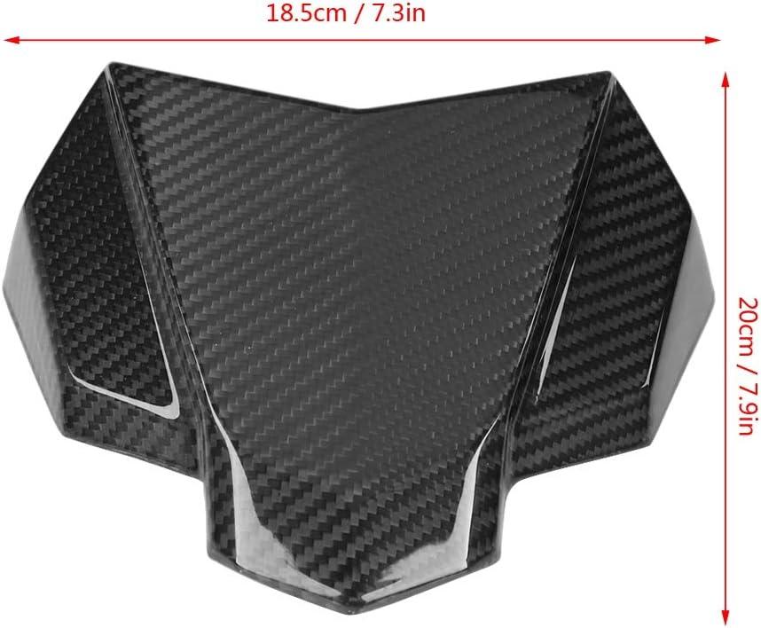 KIMISS Panneau de Protection de Pare-brise Moto Fibre de carbone Couverture de Pare-brise Avant pour MT-10 FZ-10 2016-2018