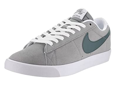 newest 03ef2 f286f Image Unavailable. Image not available for. Color  NIKE Men s Blazer Low GT  Dust Hasta WHT Pure ...