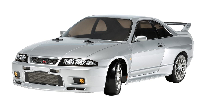 タミヤ 1/10 電動RCカーシリーズ No.604 ニッサン スカイライン GT-R R33 (TT-02Dシャーシ) ドリフトスペック オンロード 58604 B00S0VXAWG