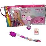 JoJo Siwa Brush Buddies Travel Kit Toothbrush Timer Floss