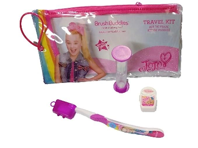 4SGM JoJo Pink Toothbrush Set