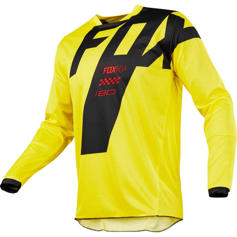 Fox Racing 2018 Youth 180 Mastar Jersey-Yellow-YS 19444-005-YS