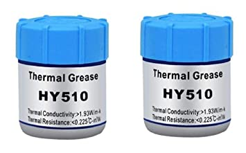 For Led CPU 10g Thermal Grease Compound Heatsink Paste Chipset Gray Silicone