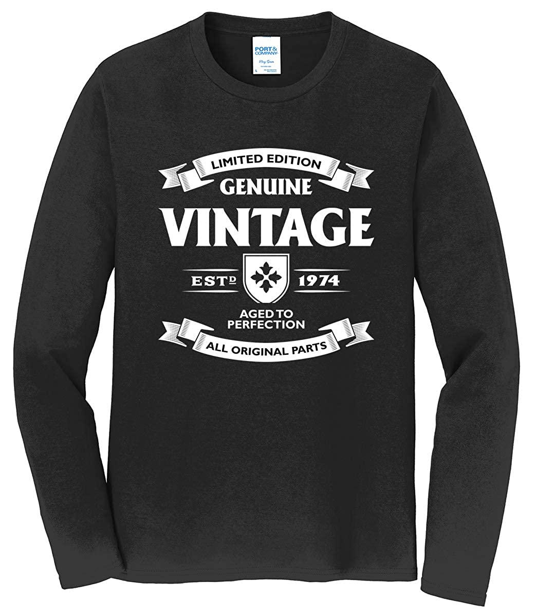 Tenacitee Mens Aged to Perfection 1974 T-Shirt
