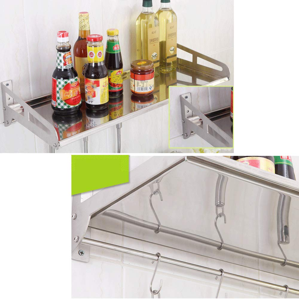 Edelstahl-K/üChenregale Wand-Mikrowelle Reiskocher Ofen Gew/üRz Liefert Lagerregal