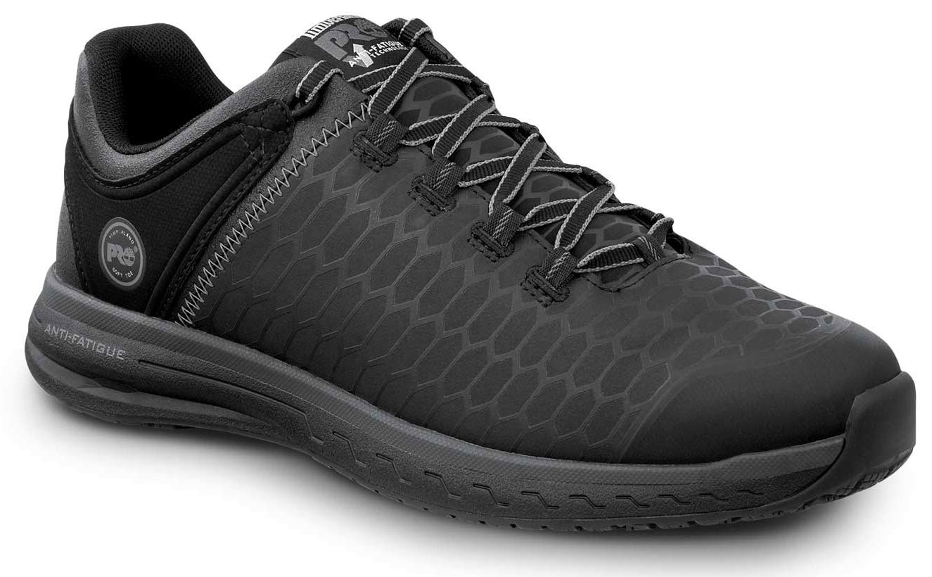 Timberland PRO Men's Powerdrive Soft Toe EH Low Athletic (10.5 M, Black/Grey) by Timberland PRO