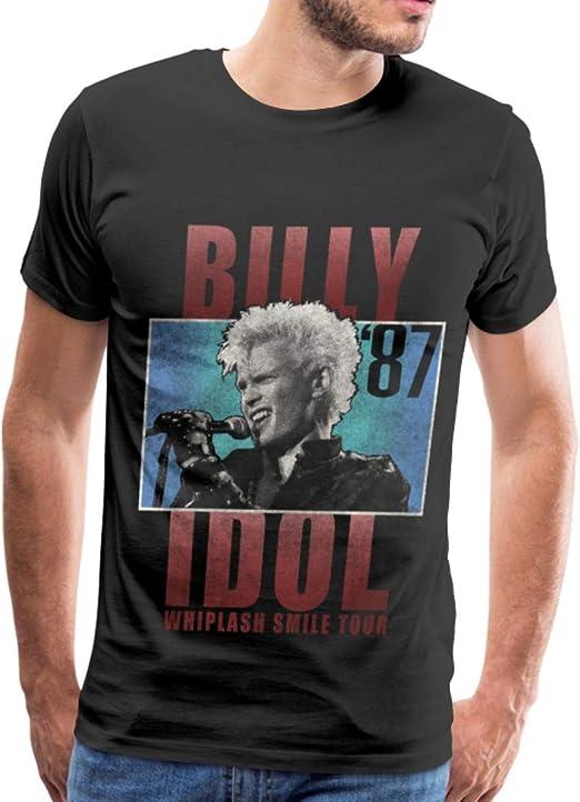 Officially Licensed Billy Idol Billy Idol Logo Men/'s T-Shirt S-XXL Sizes