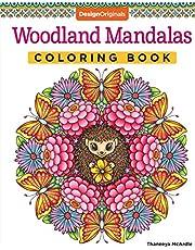 Woodland Mandalas Coloring Book