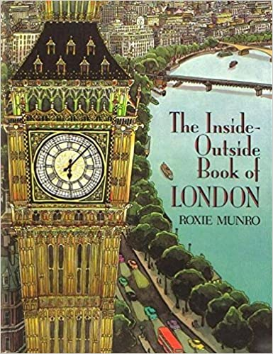 Book Munro Roxie : inside-outside Book of London (Hbk)