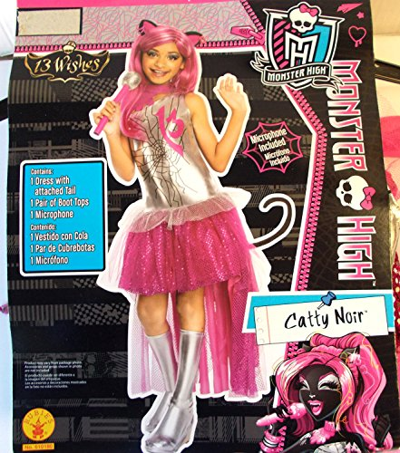 Monster High Catty Noir 13 Wishes Child Costume 8-10 NIP]()