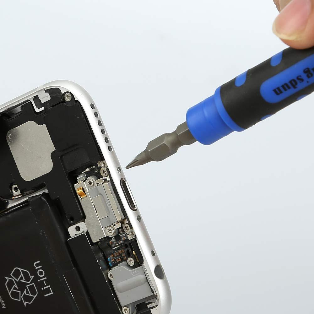 Kingsdun 4 in 1 Repair Tool Kit for Iphone 7 with Y000 Tripoint Screwdriver,P2 Pentalobe & PH0000 Phillips Screwdriver for iPhone 7/7Plus,X/8/8 Plus,iPod and iWatch