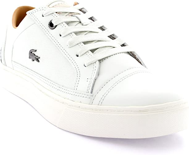 Lacoste Mens Bowerey Leather Lace Up