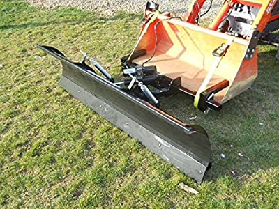 """72"""" Compact Tractor Front Loader Snow Plow"""