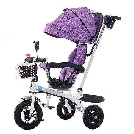 Bicicleta de Triciclo para Cochecito de bebé 3 en 1 para niños de ...
