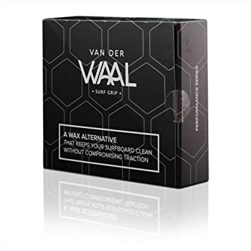 Grip de surf Van Der Waal, serie Performance, unisex, transparente, 17 Pack