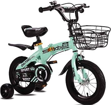 MUYU Bicicleta para niños para 2-5 años Bicicleta Alta con Ruedas ...