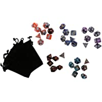 Segolike 35PCS Polyhedral Dice 16mm for Dungeons and Dragons D20 D12 D10 D8 D6 D4 DND MTG RPG Games