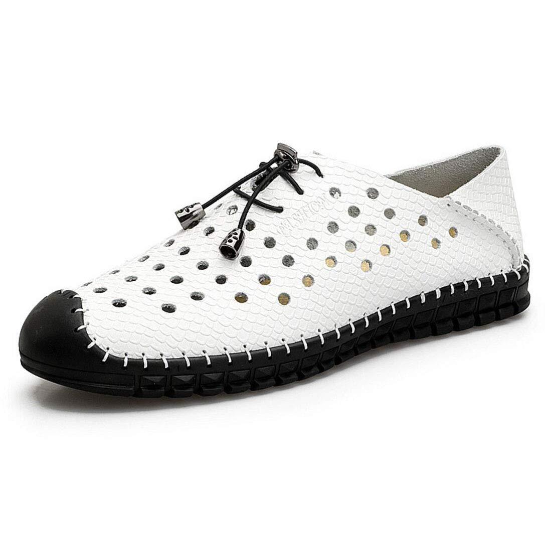 YAN Herrenschuhe Loafers Flache Schuhe Slip on Geschäft Arbeit Bequeme Mokassins Rutschfeste Laufende Driving Boat Schuhe Sommer Sandaleen