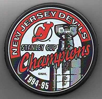 Image Unavailable. Image not available for. Color  New Jersey Devils 1995  Stanley Cup Champions Official ... a9447597c