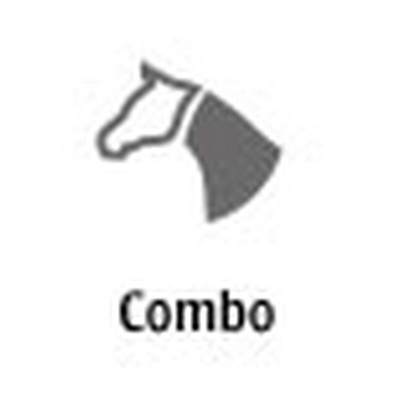 Weatherbeeta Comfitec Classic Combo Neck Lite Azul//P/úrpura//Plata