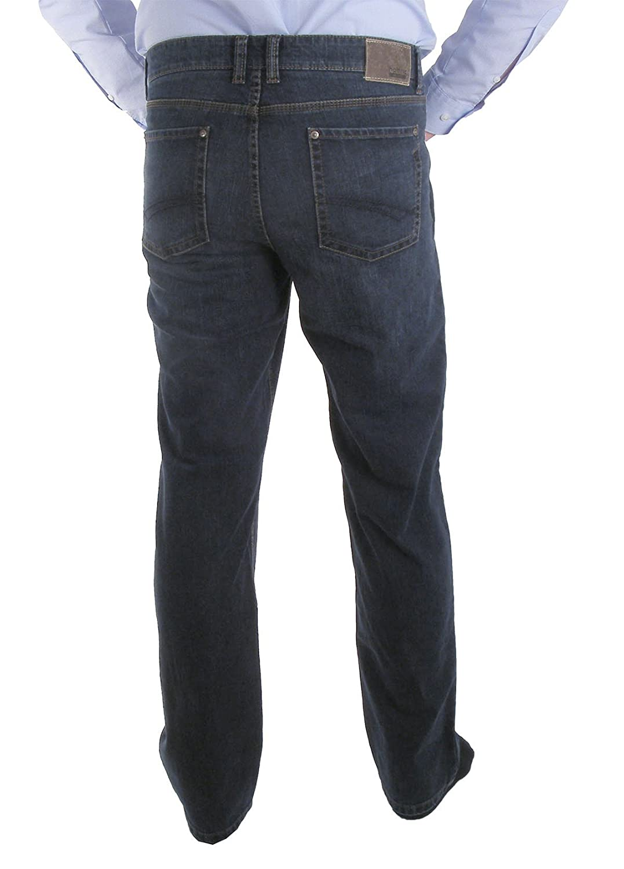 Hattric Jeans Hardy Blue/Black Used - Blue - W/L 44/32
