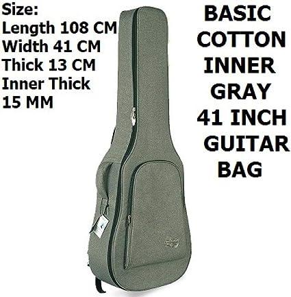 estuche de guitarra 41inch balada guitarra mochila bolsa de guitarra eléctrica 36-41inch guitarra popular bolsa bajo eléctrico: Amazon.es: Instrumentos musicales