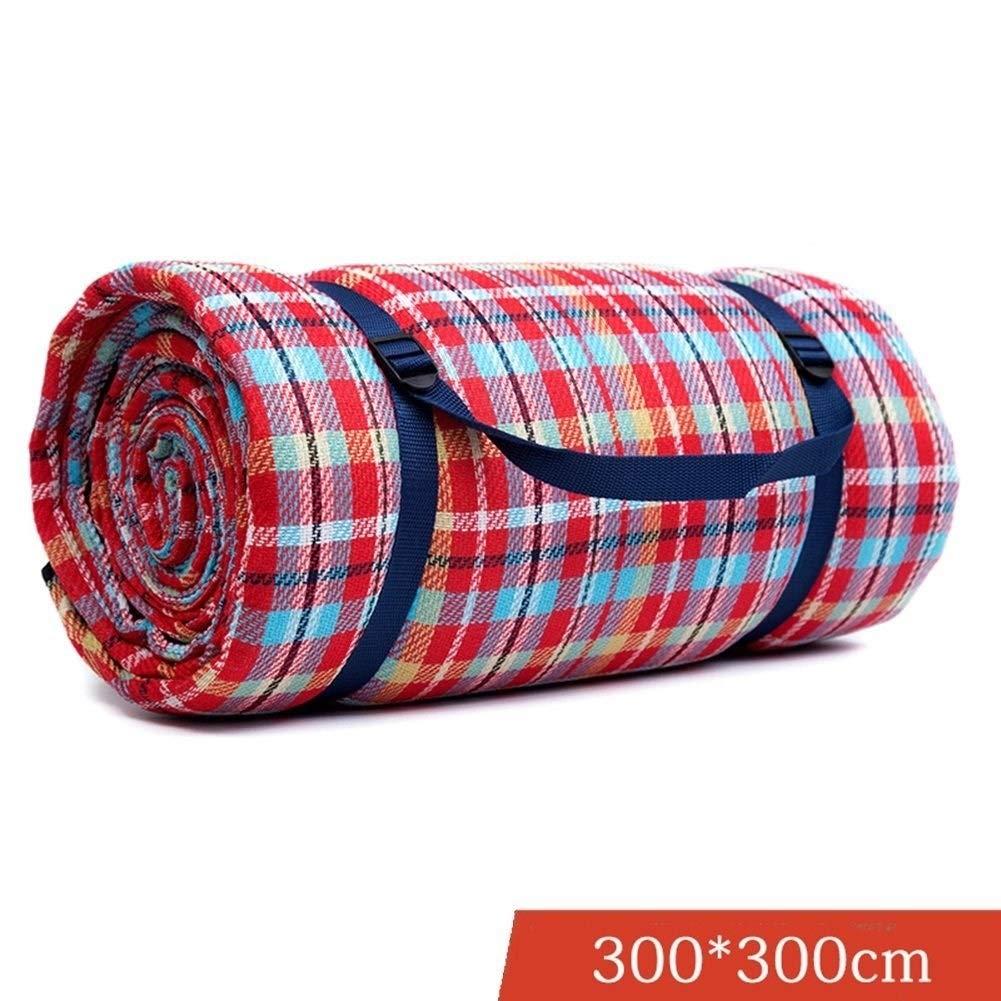 野生のピクニックマット春ピクニックピクニック収納袋、携帯用屋外カーペットマット、バーベキュー、キャンプ(300 * 300 cm) Qiuoorsqurp B07S9XPVH3