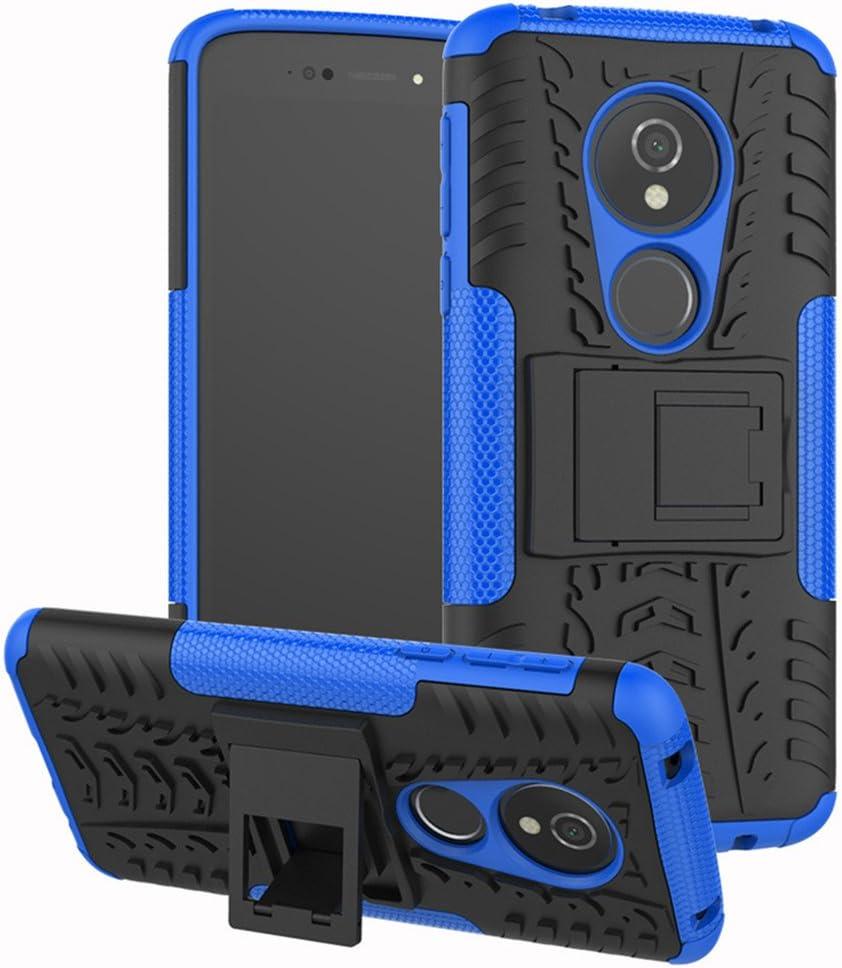 Moto G6 Play Case,Moto G6 Forge Luxury Glitter Sparkle Bling Case,Studded Rhinestone Crystal Hybrid Dual Layer Armor Case for Motorola Moto G6 Play//G6 Forge Blue Dream Catcher Mandala Flowers