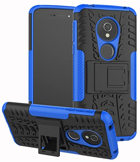 online store 22919 b7166 Moto G6 Play Case,Moto G6 Forge case, Yiakeng Dual Layer Shockproof Wallet  Slim Protective with Kickstand Phone Case Cover for Moto G6 Play Case ...